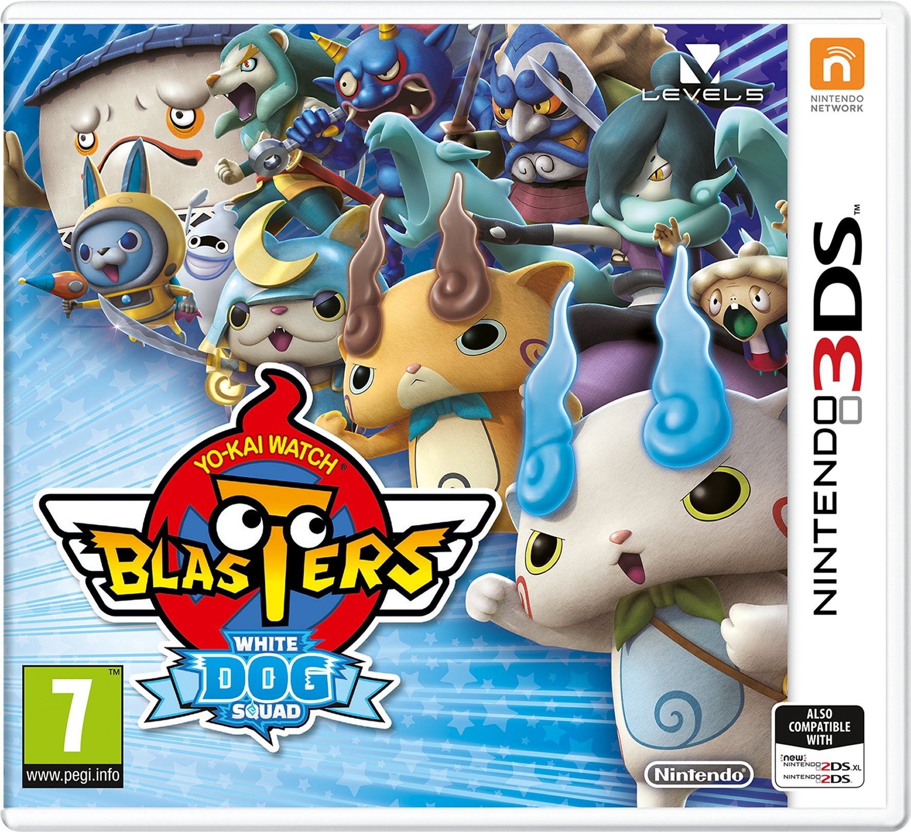 YO-KAI Watch Blasters White Dog Squad (Nintendo 3DS)
