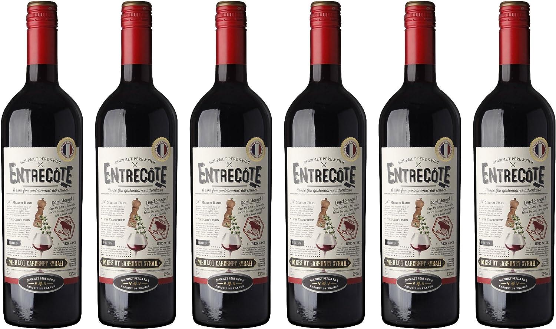 Entrecôte Vino Tinto - Pack de 6 Botellas x 0.75 l - Total: 4.5 l ...