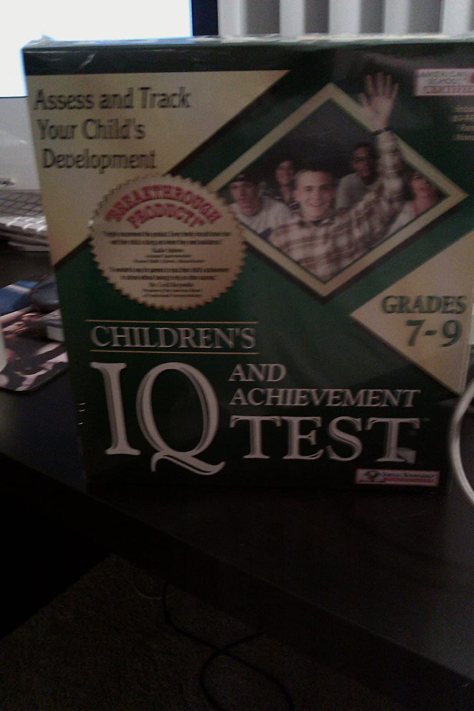 Amazon com: Children's Iq and Achievement Test