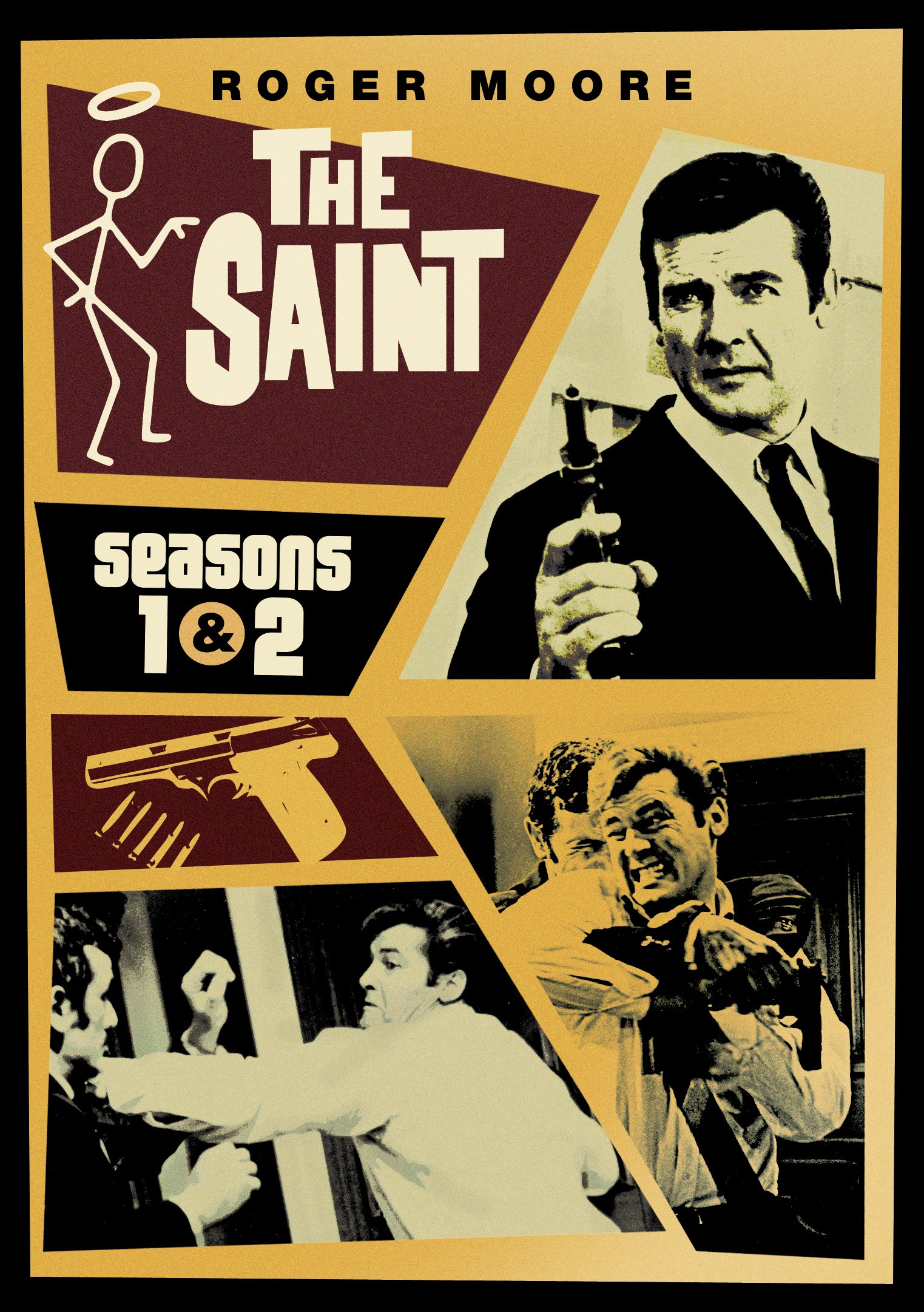 The Saint: Seasons 1 & 2 by Shout! Factory / Timeless Media