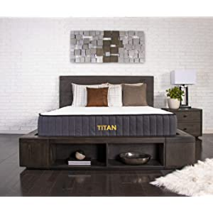 Brooklyn Bedding Titan 11-Inch TitanFlex Hybrid Mattress