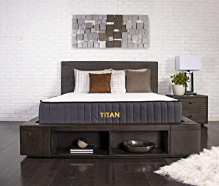 """product image for Brooklyn Bedding Titan 11"""" TitanFlex Hybrid with TitanCaliber Coils and Cooling Top, Twin"""