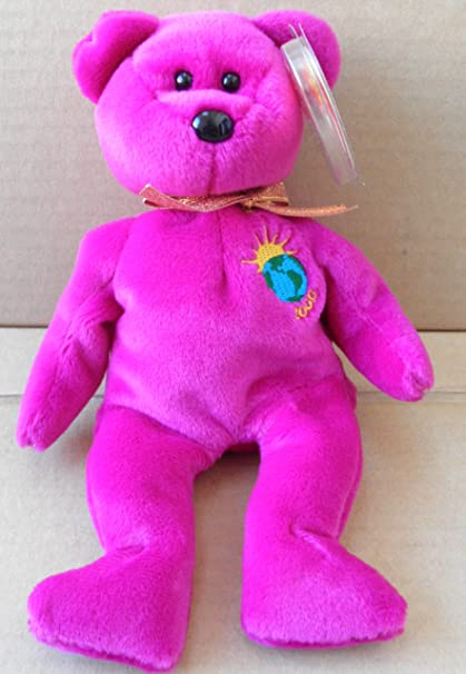 180b21e5d03 Image Unavailable. Image not available for. Color  TY Beanie Babies Millennium  Bear ...
