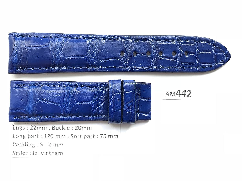 le_vietnam APPAREL メンズ US サイズ: 22mm /20mm カラー: ブルー  B078C649GP