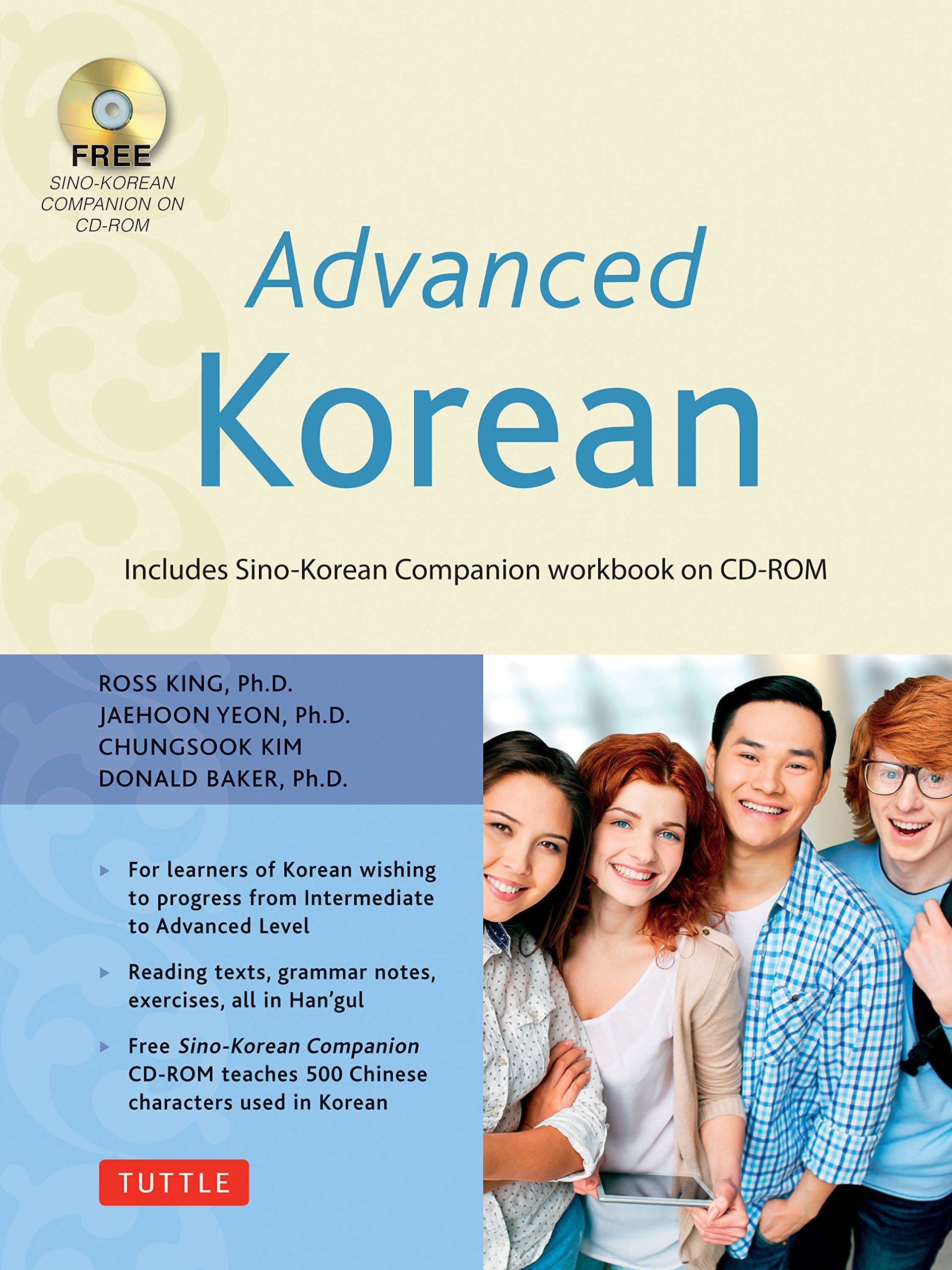 Advanced Korean: Includes Sino-Korean Companion Workbook on CD-ROM (Book & CD Rom)