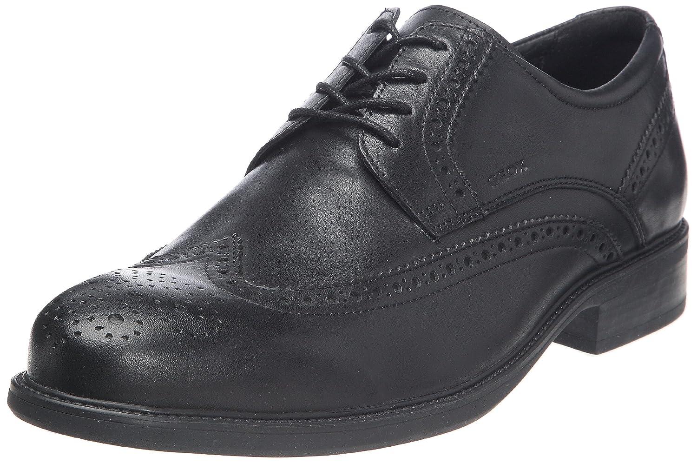 Geox U Carnaby B, Chaussures de ville homme, Noir (Black), 44
