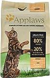 Applaws Katzentrockenfutter mit Hühnchen, 1er Pack (1 x 400 g Packung)