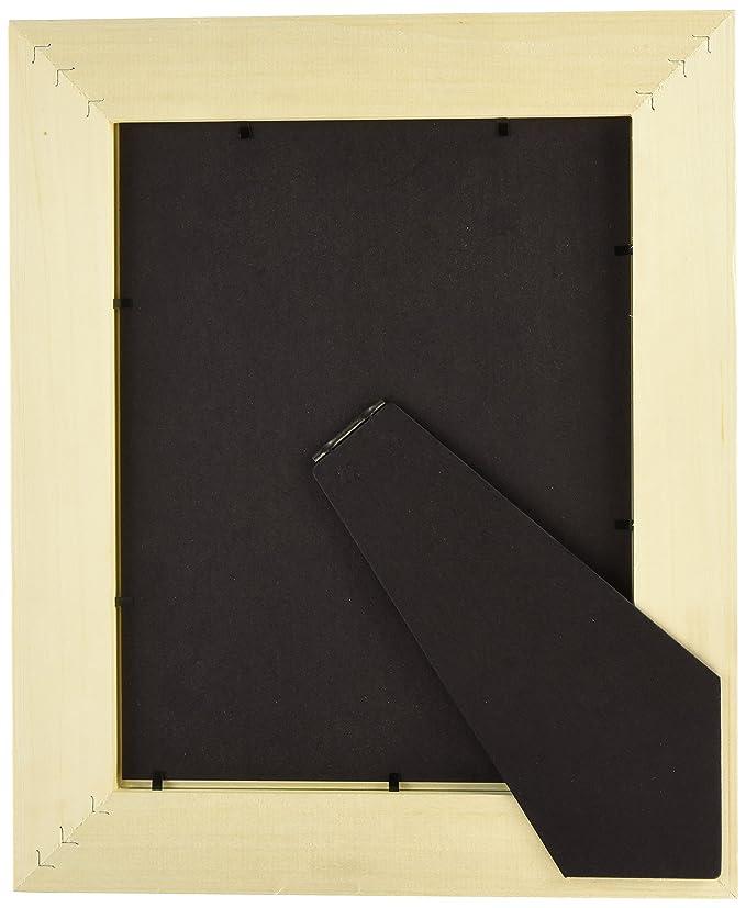 Amazon.de: 8, 5 x 11 unlackiert Holz Rahmen - 5, 1 cm, DIY Bilderrahmen