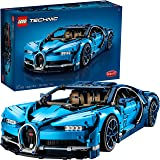 LEGO Technic Bugatti Chiron 42083 Race Car Building Kit and Engineering Toy, Adult Collectible Sports Car with Scale Model En