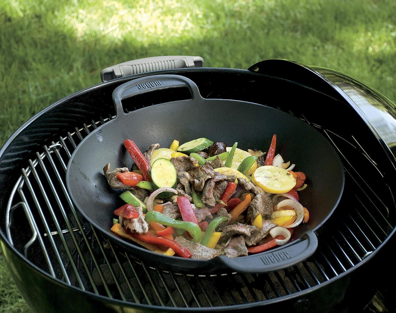 Landmann Gasgrill Wok : Weber gourmet bbq system wok einsatz amazon garten