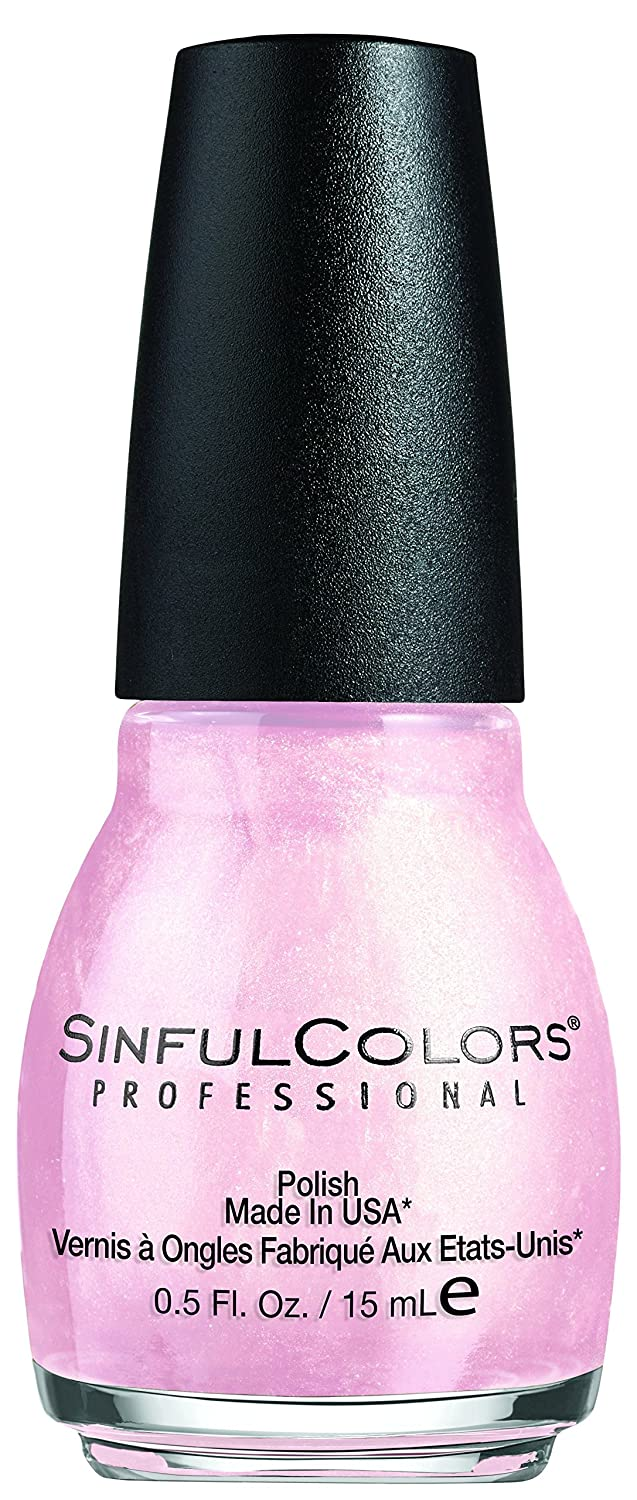 Sinful Colors glass pink Nail Polish, 15 Milliliters 6360-70