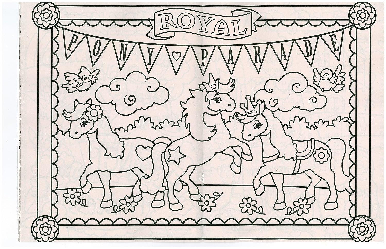 Darice 100D2494 Royal Princess Coloring Book