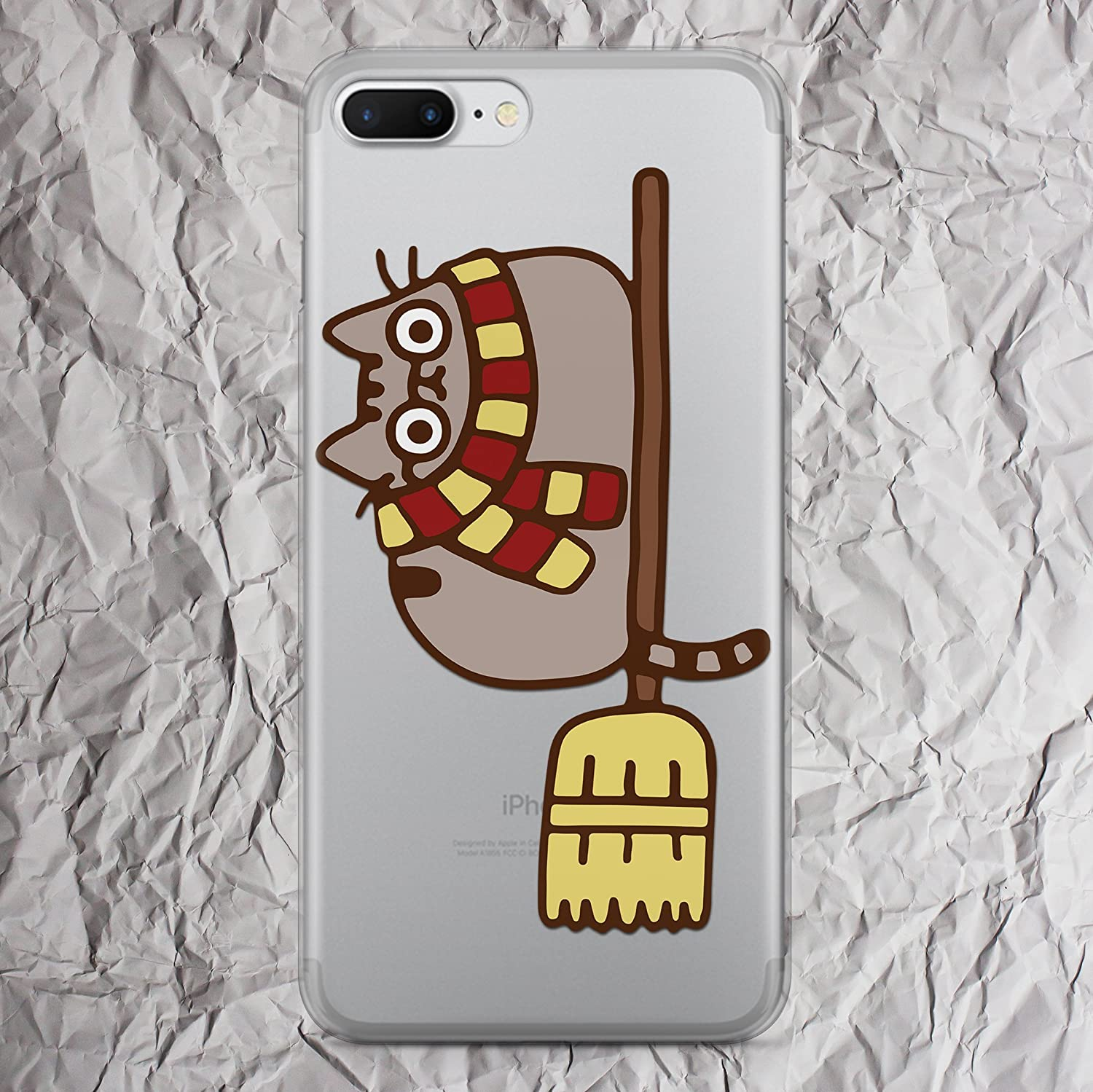 Broomstick Harry Potter Broom Phone Case for iPhone X 8 7 6s 6 Plus se 5se 5 5s 5c 4s 4 Cases Print i Phone Case Quidditch Flying Gryffindor Scarf Cat Doe My Patronus Is A gifts Fandom Silicone Cover