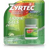 Zyrtec 24 HR Indoor & Outdoor Allergy Liquid Gels Capsules, Cetirizine HCI Antihistamine, 12 ct