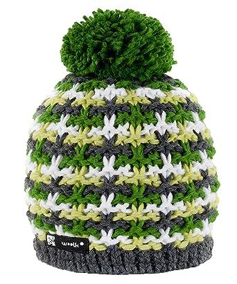395c9278805 Beanie Hat Wool Knitted NORDIC with Ponpon Men s Women s Winter Warm  Fashion SKI Snowboard Hats (Batty 38) MFAZ Morefaz Ltd  Amazon.co.uk   Clothing