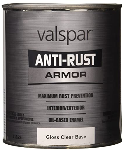 1 Quart Clear Base Gloss Anti Rust Armor Oil Based Enamel Paint 44