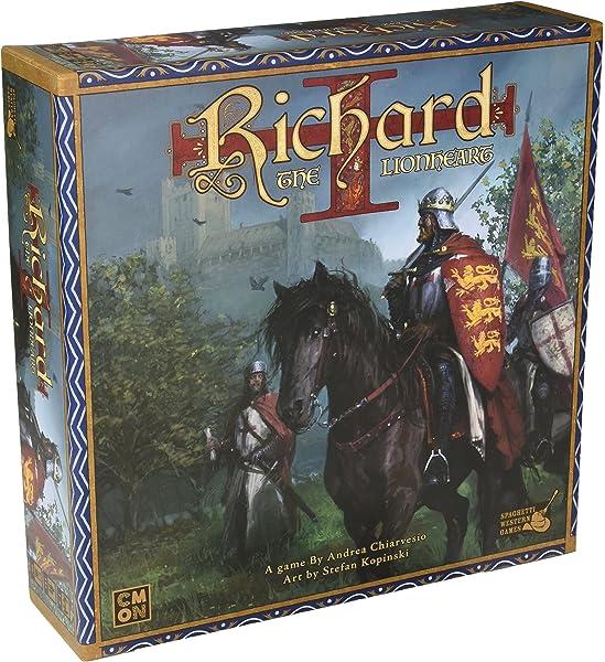 Richard The Lionheart Tabletop Game Amazon Com Au Toys Games