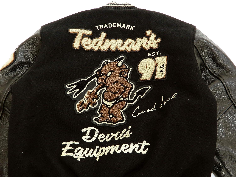 Amazon.com: TEDMAN Chaqueta para hombre con letras TDJ-19000 ...