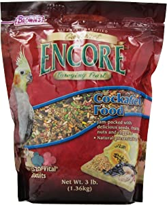 F.M.BROWN'S Encore Gourmet Cockatiel Food