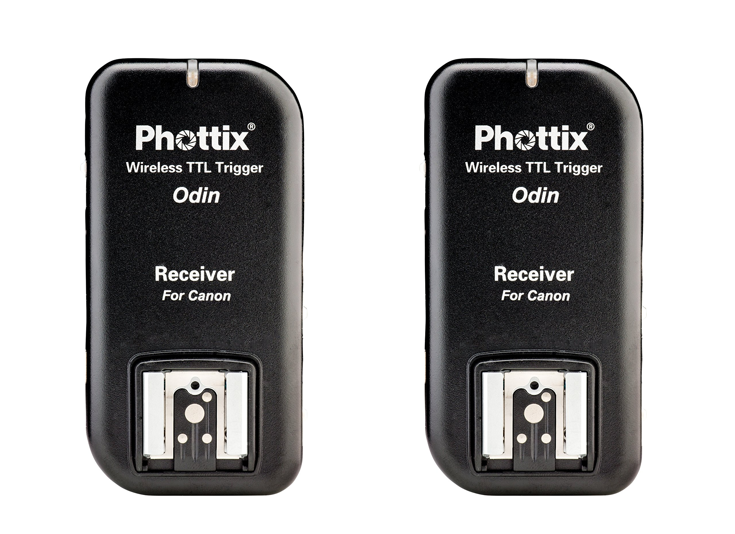Phottix Odin TTL Wireless Flash Trigger v1.5 for Canon - Receiver 2-Pack (PH89062) by Phottix