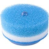 Wall mount Scrunge Scrub Sponges (Pack of 9) with 2x Wall Suction Holders | Multi-Use Heavy Duty Durable Absorbent Scrubber Cleaning Dishcloth Sponge for Kitchen Dishwashing Bathroom and Home