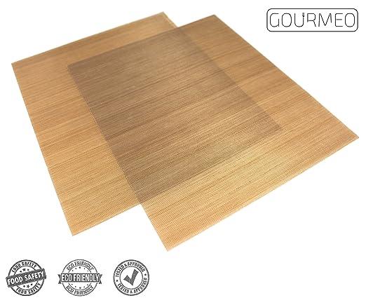 5 opinioni per GOURMEO carta da forno riutilizzabile (set da 2, 36 x 42 cm), facile da