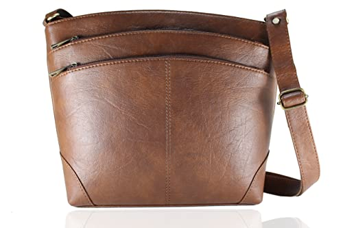 2983c2d1c23f Fargo Sun dry PU Leather Women s   Girl s Side Sling Shoulder Bag  (Brown FGO-013)  Amazon.in  Shoes   Handbags
