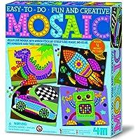 4M  Eğlenceli Mozaik, Dino Roket Robot ve Yarış Arabası