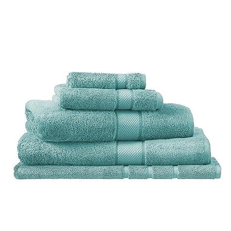 Sheridan pálido verde de lujo egipcio de toallas de algodón, algodón, verde claro,