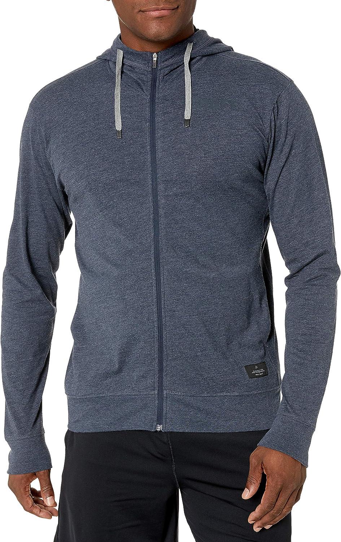 Craft Mens Deft 2.0 Full Zip Jersey Hooded Training Jacket