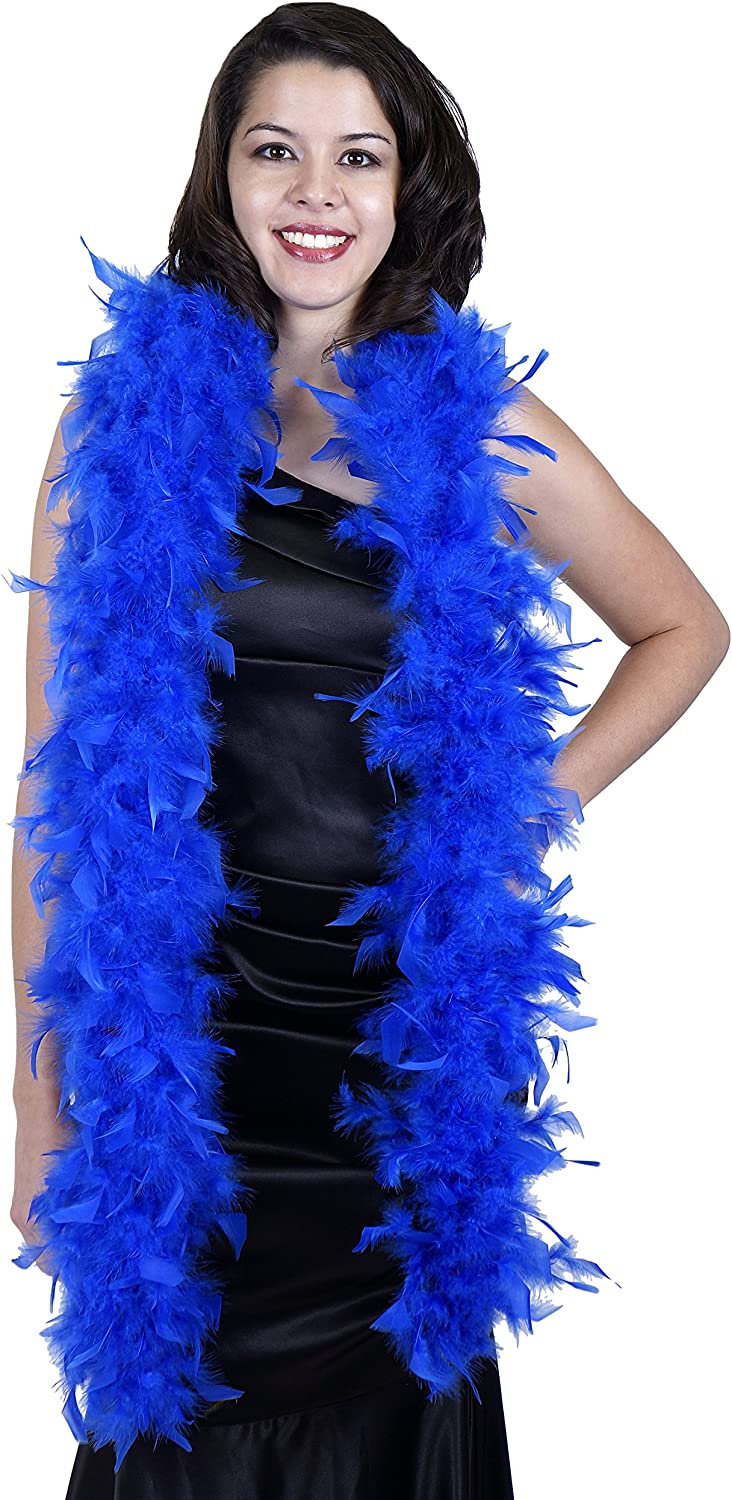 Lavender ZUCKER Medium Weight Chandelle Feather boa Solid Colors