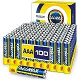 Allmax AAA Maximum Power Alkaline Batteries (100 Count Bulk Pack) – Ultra Long-Lasting Triple A Battery, 10-Year Shelf…