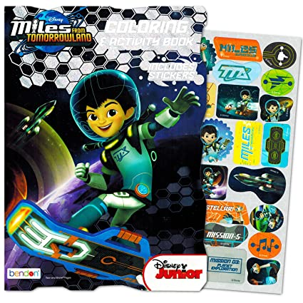 Disney Miles From Tomorrowland Coloring And Activity Book With Stickers
