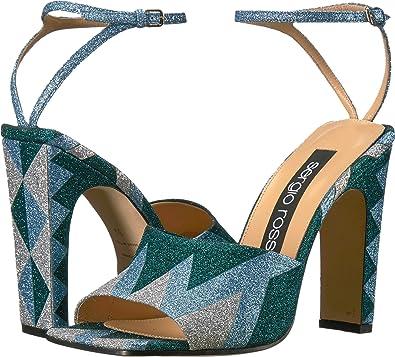 low priced 3bc74 8d2c9 Amazon.com | Sergio Rossi Women's A78090-MAF981 | Sandals