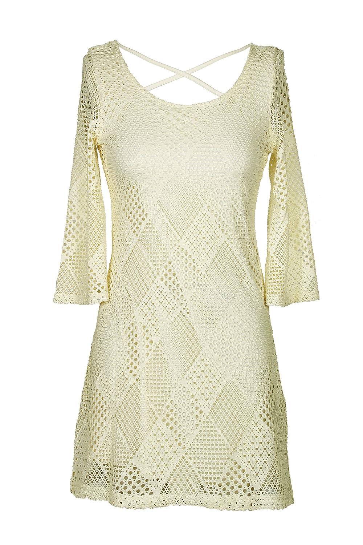 128b8d8b4838 OB2-12 Women's Elegant Floral Lace Sleeveless Cocktail Dress at Amazon  Women's Clothing store: