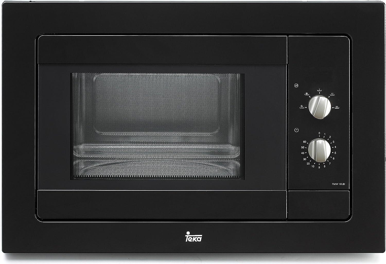 Teka - Microondas Teka Tmw18Bin, 18L, 800W, Negro, Temporizador ...