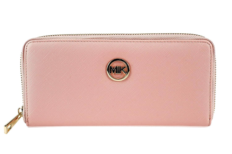 Cartera de mujer MIK, monedero de moda de cuero de la PU elegante y bolsillo para teléfono móvil en uno