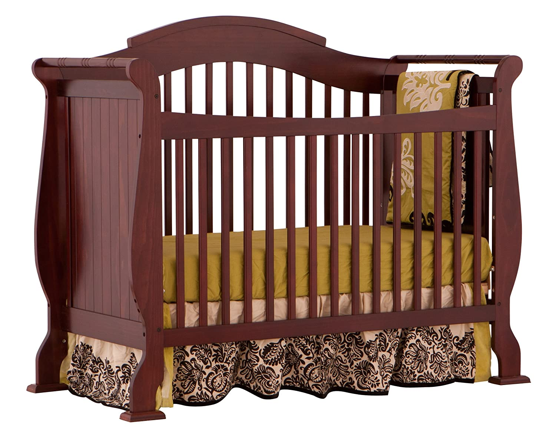 Bon Amazon.com : Stork Craft Valentia Convertible Crib, Cherry : Baby Cribs :  Baby