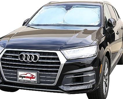 Amazon.com  EPAuto Car Windshield Sun Shade - UV Ray Deflector for ... 8953eadbd82