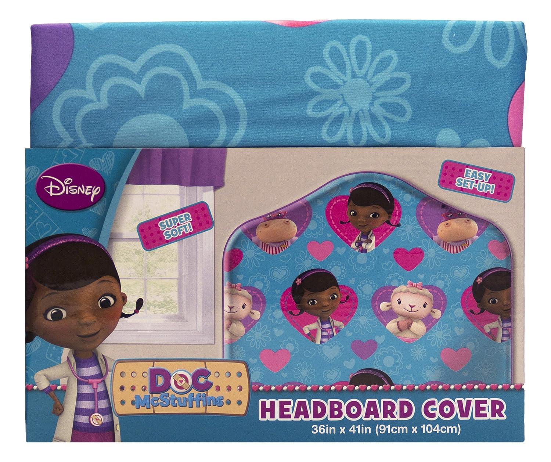 Disney Jr Doc McStuffins Microfiber Microfiber Microfiber Headboard Cover bde040
