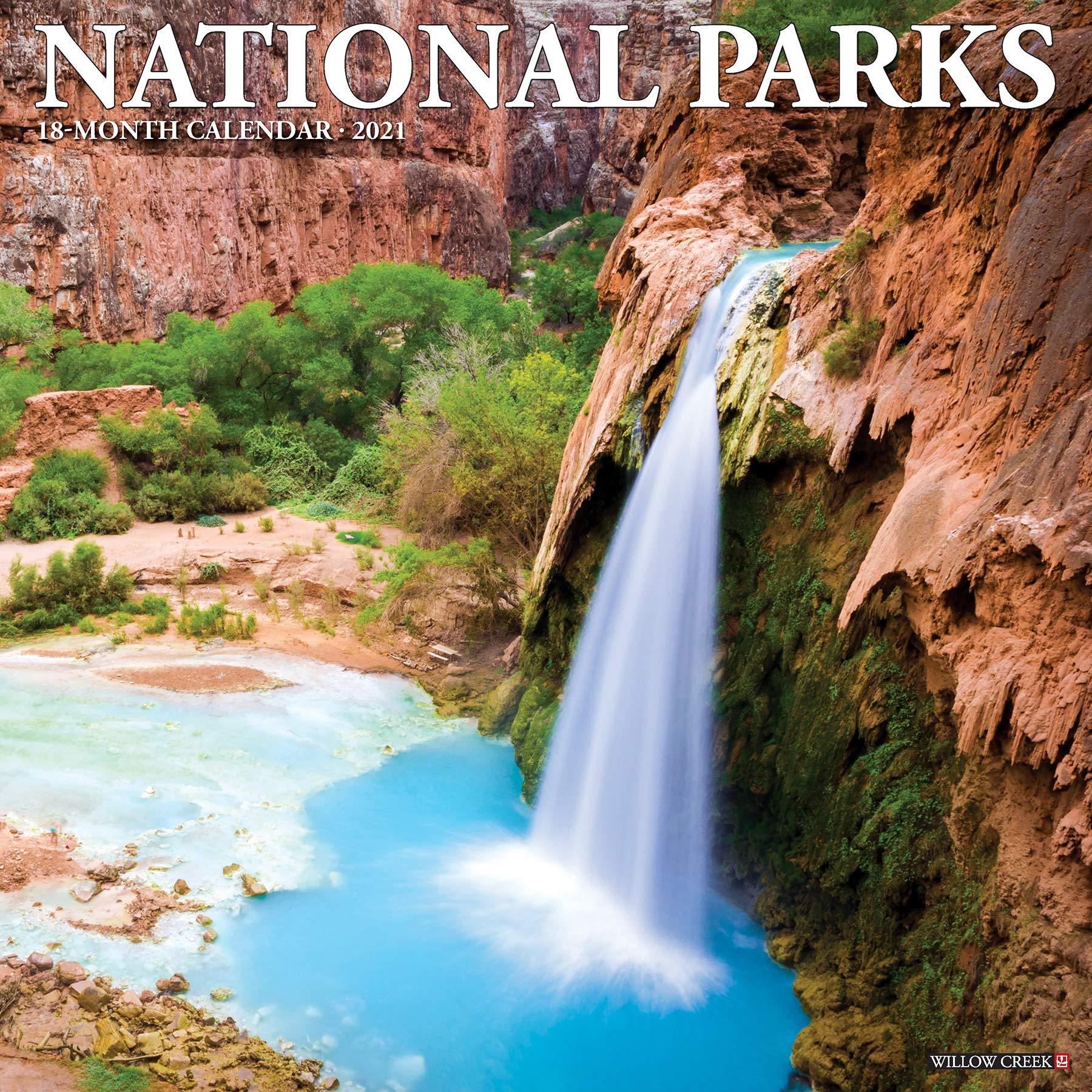 National Parks Calendar 2022.National Parks 2021 Wall Calendar Willow Creek Press 9781549212697 Amazon Com Books