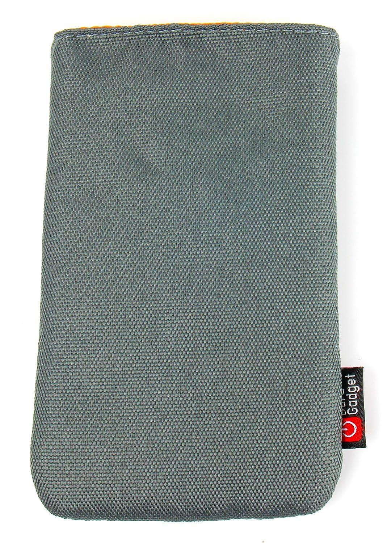 DURAGADGET マットチャコールグレー スリップケース/カバー ベルトループ付き レノボミラージュカメラ用 B07D4LSTVJ