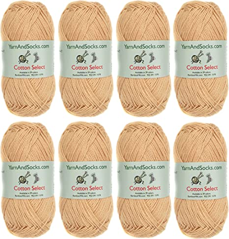 Plumwine Cotton Select Yarn 4 Skeins All Cotton