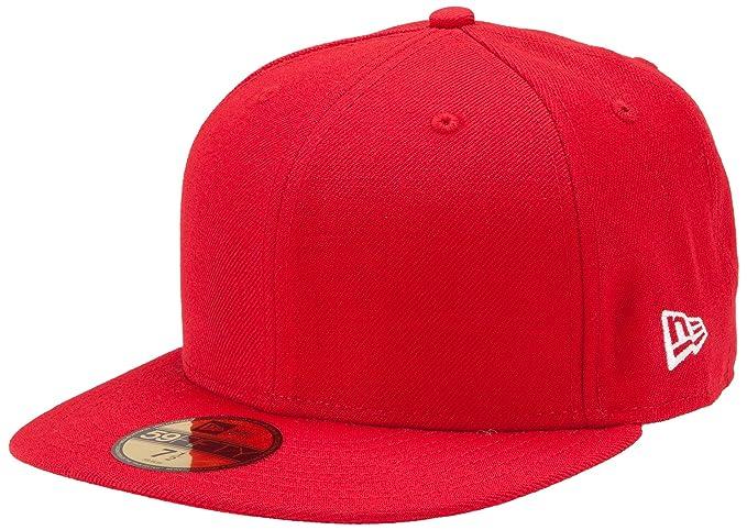 timeless design b5530 3b3e9 Amazon.com   New Era Original Basic 59Fifty Hat   Sports Fan Baseball Caps    Clothing