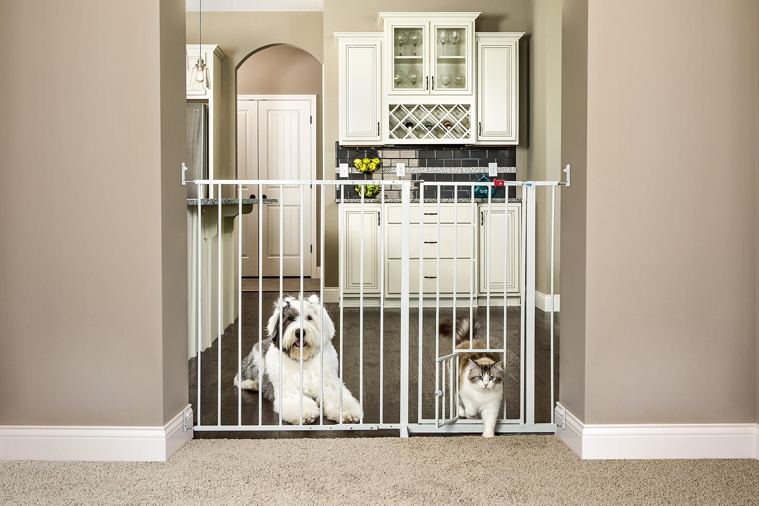 Carlson Maxi Extra Tall Pet Gate, Expands 51-59 Inches Wide by Carlson (Image #2)