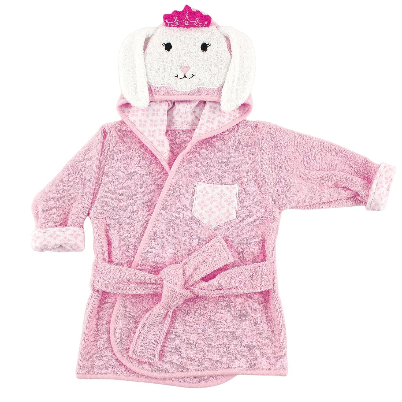 Nerdy Giraffe Hudson Baby Animal Face Hooded Bath Robe 0-9 Months