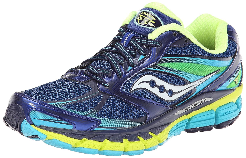 Saucony Women's Guide 8 Running Shoe B00KPTZ7GS 6 B(M) US Blue/Navy/Yellow
