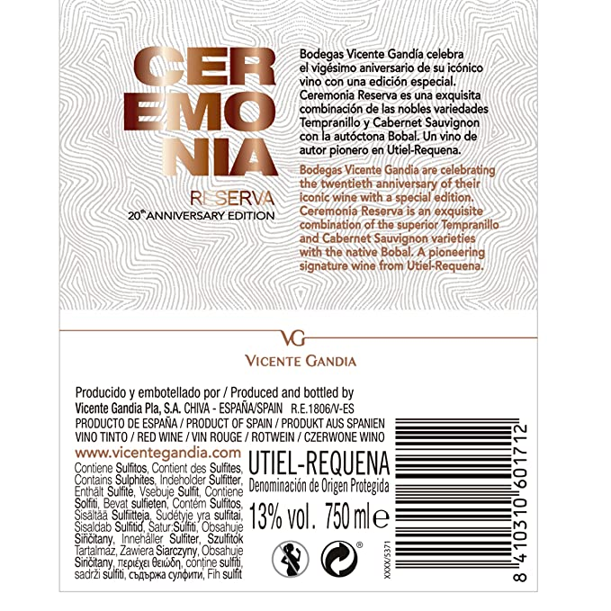 Ceremonia Reserva de Autor Ed. 20 Aniversario caja 6 ...