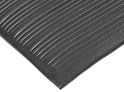 Notrax 410 Pvc Airug Safety//Anti-Fatigue Floor Mat 2/' Width X 3/' For Dry Areas