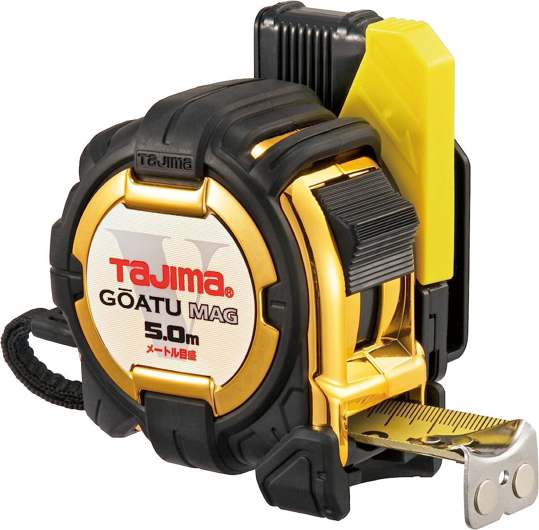 タジマ(Tajima) コンベックス 剛厚セフコンベ G3ゴールドロックマグ爪 5.0m 25mm幅 メートル目盛 GASFG3GLM25-50BL